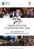 Presentazione Calendario Pallio della Carriera 2018